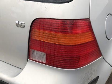 Разборка Volkswagen Bora и Golf 4 . Как снять задний фонарь ?
