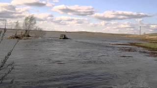 """Павлодарская песочница """"Вербное воскресенье""""Нива плавает."""