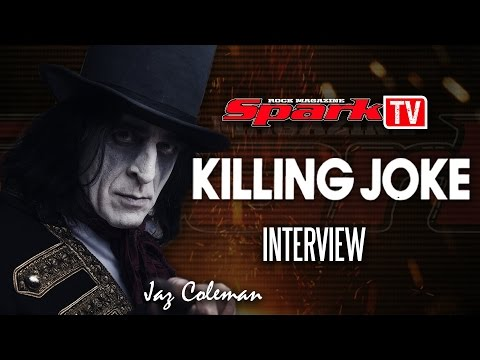 SPARK TV: KILLING JOKE - interview (Jaz Coleman)