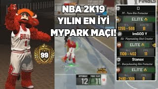NBA 2K19 MyPARK'TA YILIN MAÇI! EFSANE DÜELLO! Maskot Gameplay