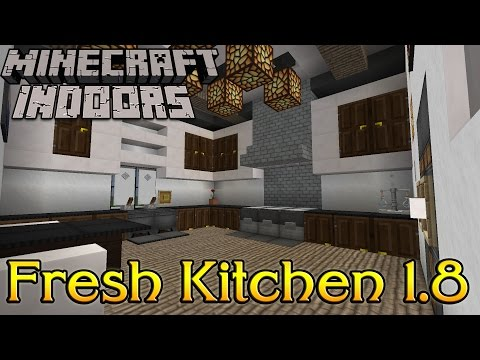 Full download minecraft kitchen design and ideas for Kitchen ideas minecraft