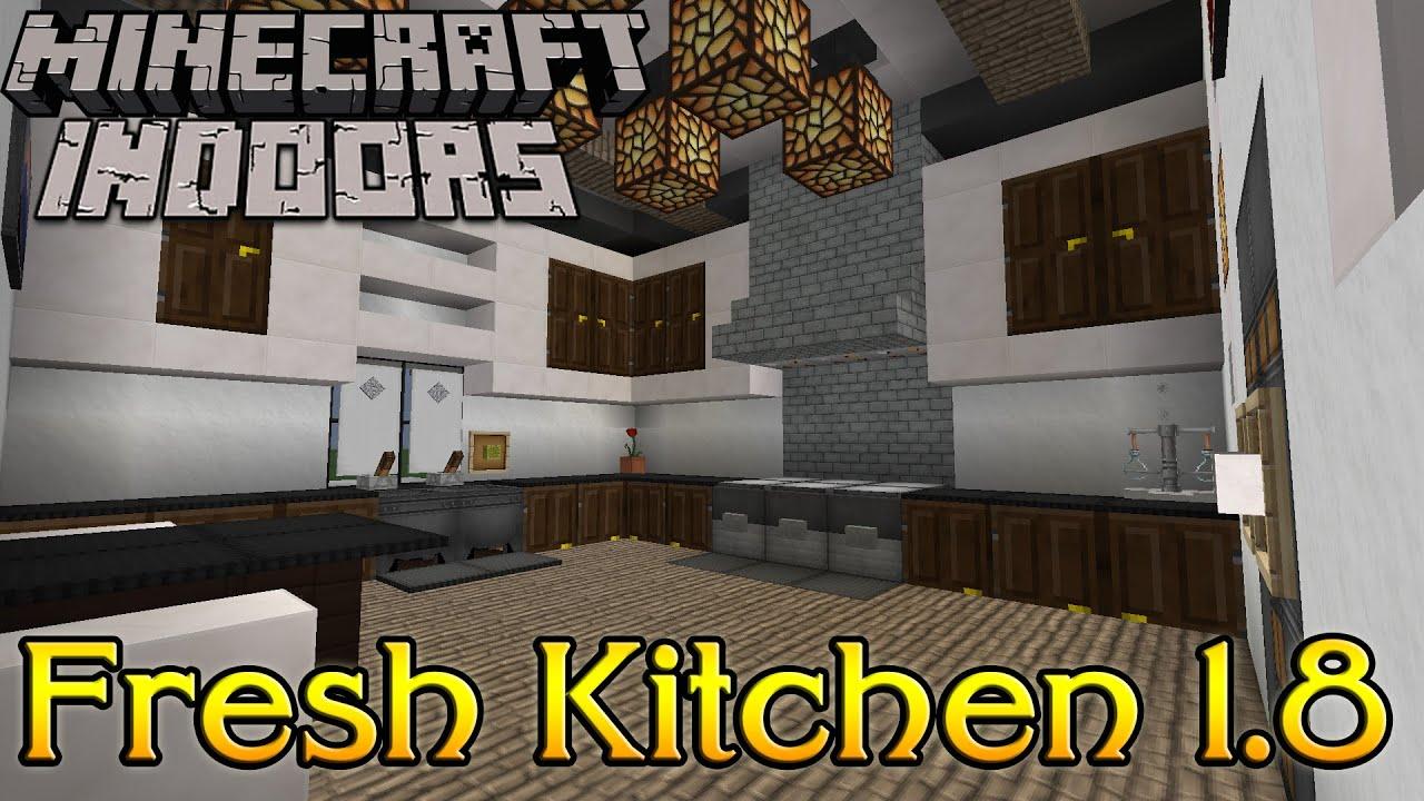 Minecraft Kitchen Designs Ideas Youtube Inside Kitchen