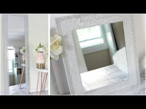 DOLLAR TREE ELEGANT DECORATIVE MIRROR D.I.Y WAL-MART MIRROR