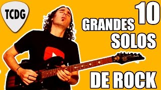 10 Grandes Solos De Rock En Guitarra Eléctrica TCDG