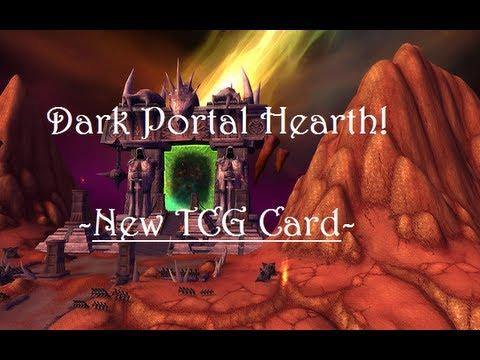 Dark Portal HearthStone! - New TCG Card Preview!