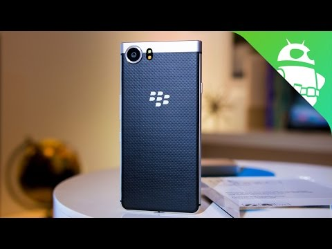 Thumbnail: Blackberry 'Mercury' Hands-On at CES 2017!