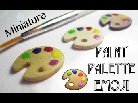Paint palette emoji