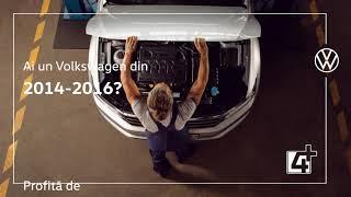 Ai un Volkswagen din 2014-2016? Profită de ofertele de nerefuzat la inspecția de service.