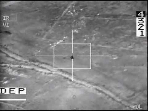 French Jet fighter Attack a Taliban biker.avi