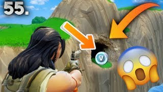 SECRET LOCATION FOR V-BUCKS! (FORTNITE BATTLE ROYALE) !