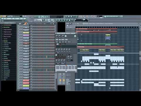 Migos - Hannah Montana (Instrumental) FL Studio Tutorial Remake + MP3 + FLP