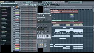 Migos - Hanna Montana (Instrumental) FL Studio Tutorial Remake + MP3 + FLP
