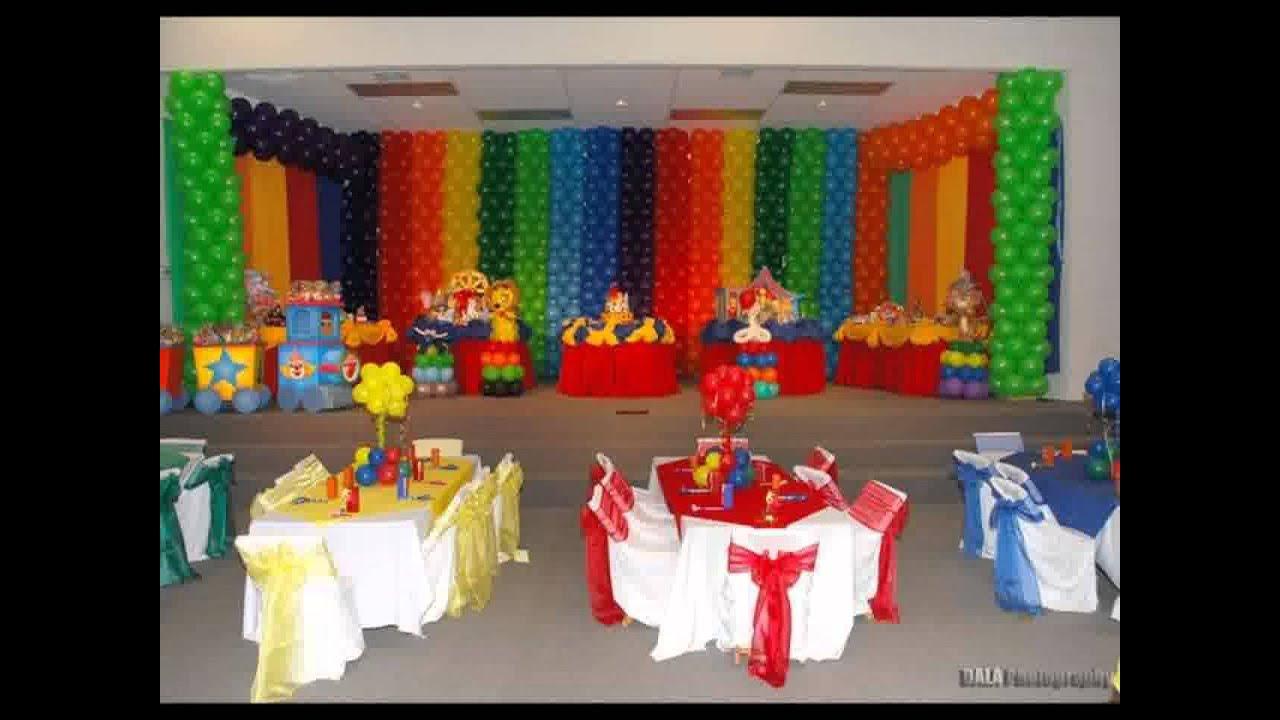 Decoração Youtube ~ Elmo festa de aniversário decoraç u00e3o YouTube