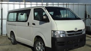 TOYOTA HIACE VAN Long DX 2009
