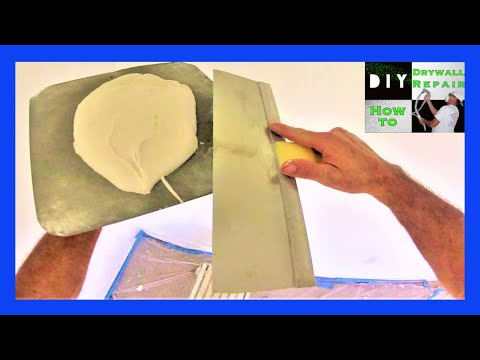 How To Do Skip Trowel Texture On A Ceiling Tutorial