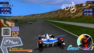 Future GPX Cyber Formula: Road to the Infinity 4 (PS2 Gameplay)