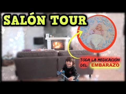 SALON TOUR cambiado + La MEDICACIÓN en el EMBARAZO | Familia Tutti Vlog