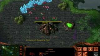 The Warcraft vs Starcraft Mod --  Zerg vs Orcs