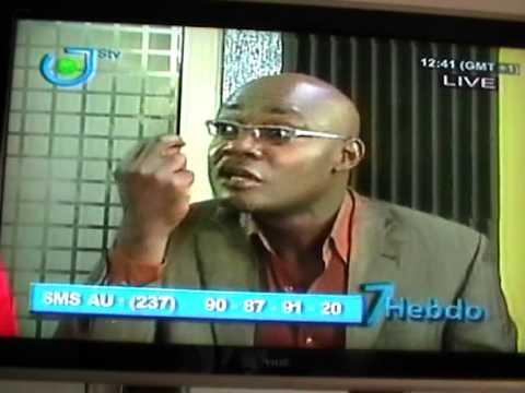 Debate @ STV on the law binding senatorial elections in Cameroon