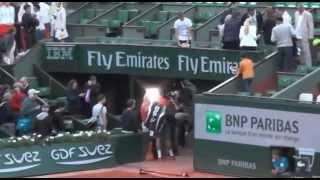 Milos Raonic Autograph, Roland Garros
