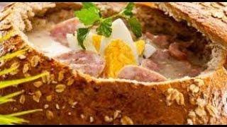 видео Польская кухня: польский суп капустняк (капусняк)