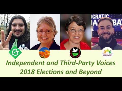 Independent and Third-Party Voices, 2018 Elections and Beyond 121217