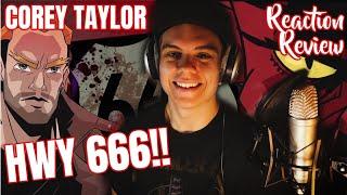 COREY TAYLOR - HWY 666   Reaction & Review   #DerRockSchopp