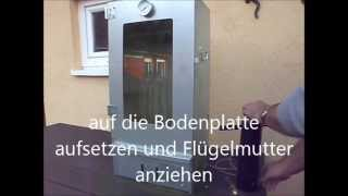 Rauchmax RZ300  Kaltrauchgenerator Cold Smoker Raucherzeuger Sparbrand