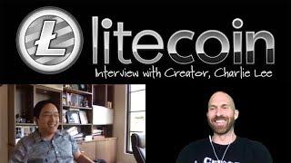 Crypto Love Interviews Charlie Lee!