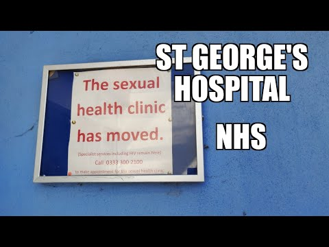 ST GEORGES HOSPITAL NHS Tooting  LONDON UK