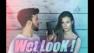 Wet LooK ! Efekt mokrych włosów ! Jak uzyskać ? Make Up GLOW ! CiaRo UsaGo :D