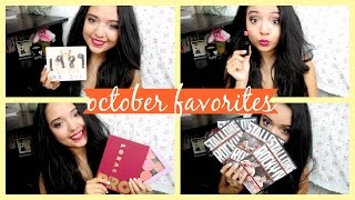 OCTOBER FAVORITES ♡ Makeup, Music & More! Thumbnail