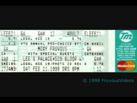Tory Cassis (with Moxy Fruvous) - Leaning on the Stair (Toronto 2-21-98)