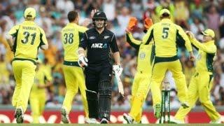 Australia vs New Zealand 1st ODI 2016 Match Full Highlights