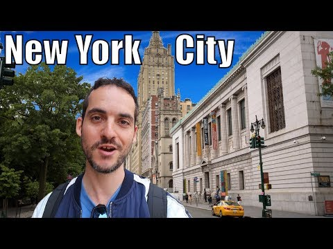 Upper West Side Neighborhood Tour - A New York City GEM ! (Manhattan)