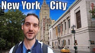 Upper West Side Neighborhood Tour - A New York City GEM ! (Manhattan)