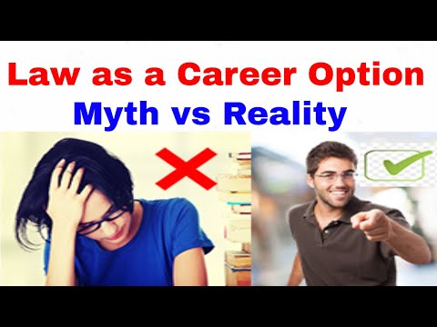 Law as a Career Option - Myth vs Reality