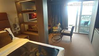 A quick tour of Yacht Club Cabin 16001 on the MSC Seaside.