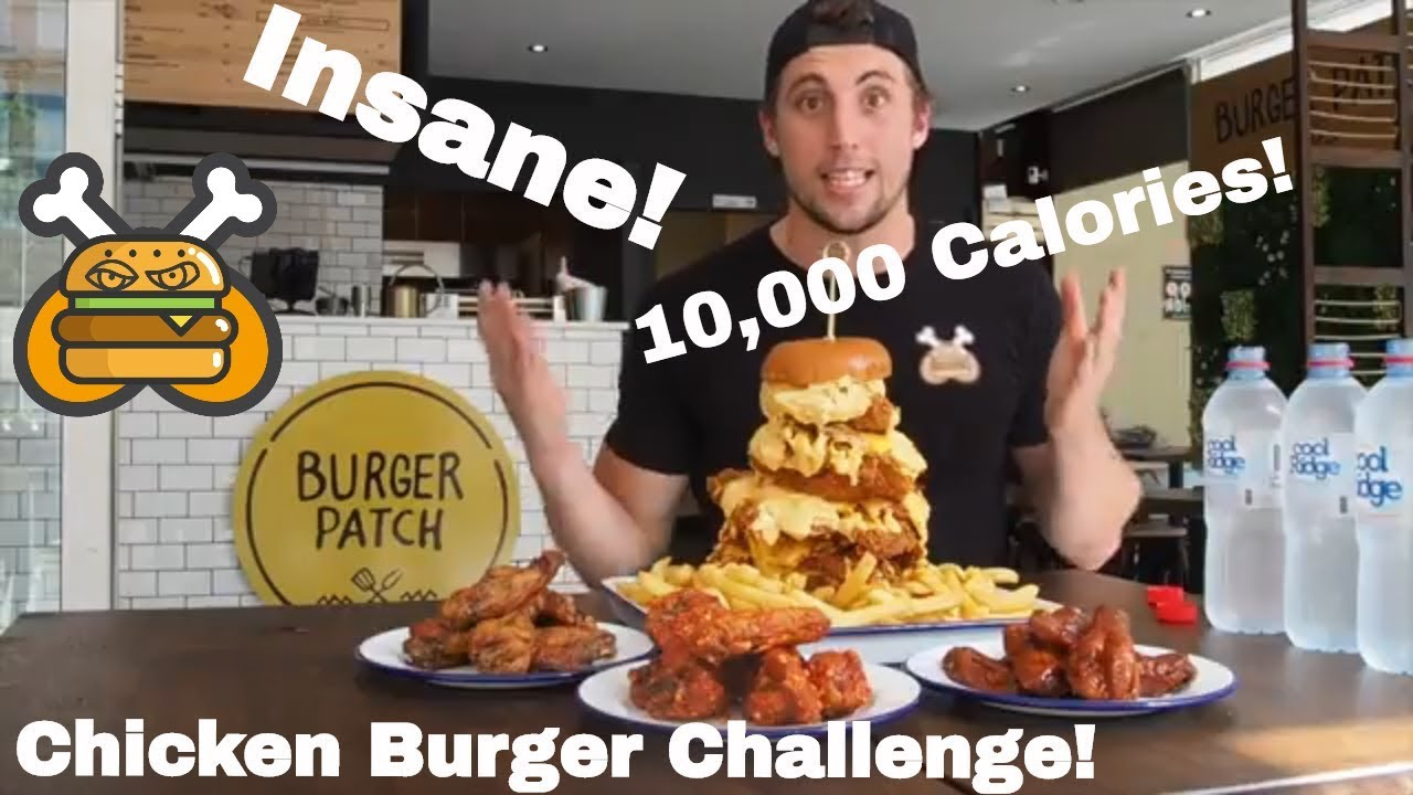 10,000 CALORIES of Fried Chicken | Epic Cheat Day Challenge | Food Coma