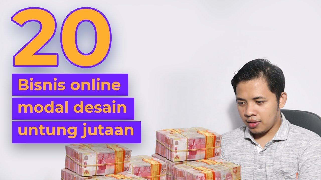 20 ide bisnis online tanpa modal uang, HANYA modal desain ...