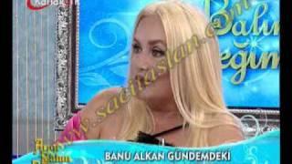 Banu Alkan canlı yayında hayli gergindi