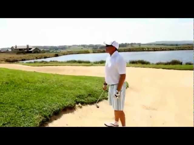 Video over de Ernie Els Copperleaf Golf Club nabij Pretoria in Zuid-Afrika