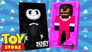 minecraft toy store bendy turns freddy into a girl