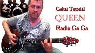 Baixar Radio Ga Ga - Queen - Acoustic Guitar Tutorial