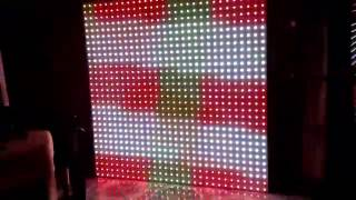 Video en Matriz 30x30 pitch 60 gamma correction