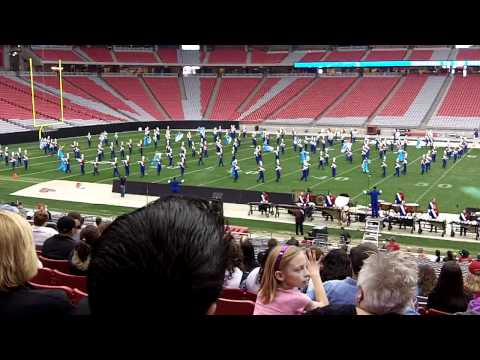 Mesa Mountain View High School Marching Band - Fiesta Bowl Band Championship 2011