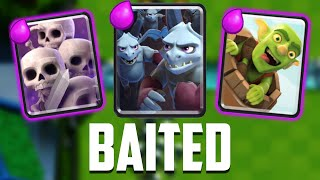 Clash Royale - BAITED! New Favorite Deck