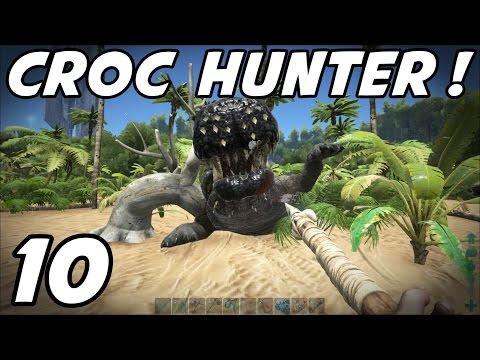 "ARK Survival Evolved - E10 ""Crocodile Hunter!"" (Gameplay / Playthrough / 1080p)"