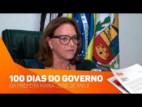 100 dias do governo da Prefeita Maria José de Tatuí - TV SOROCABA/SBT