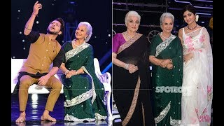 Yesteryear Beauties Waheeda Rehman and Asha Parekh To Be The Special Guests On Super Dancer 3